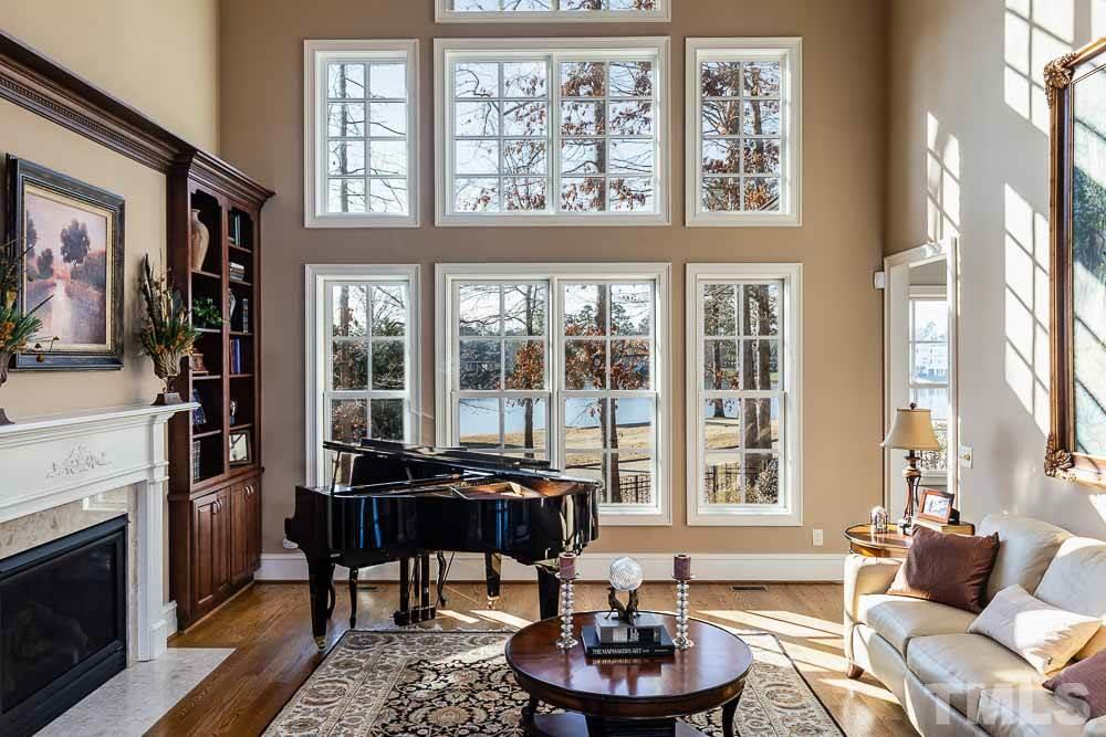 Library, study, office...so much potential for this room and it opens to a nice enclosed balcony in the turret.