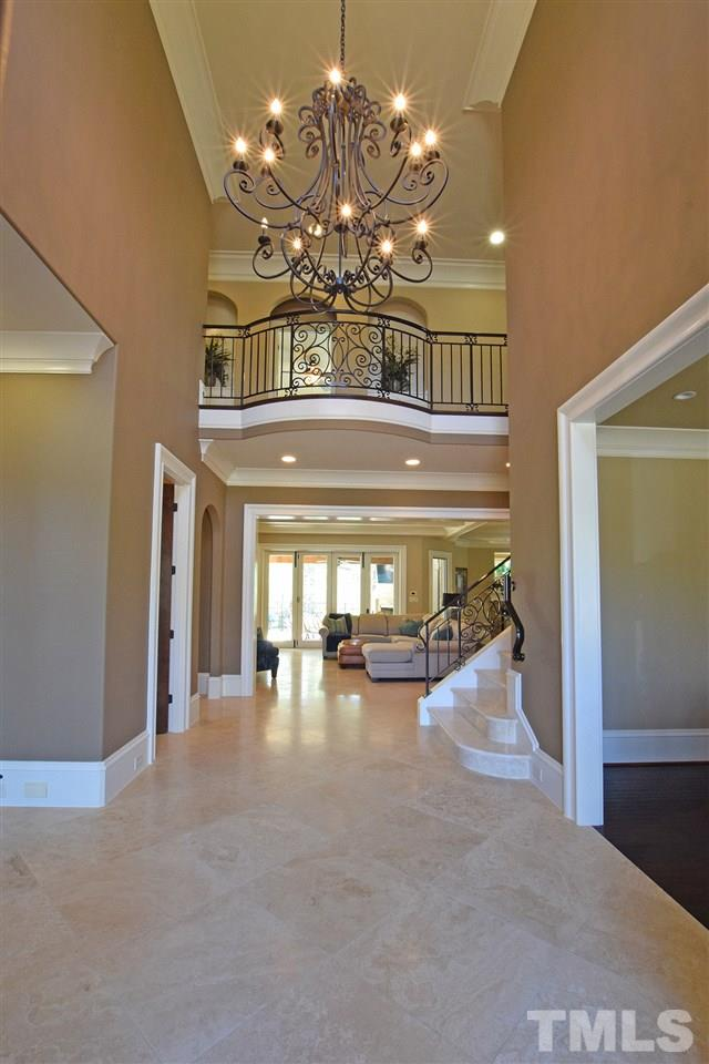 Two Story Vaulted Ceiling