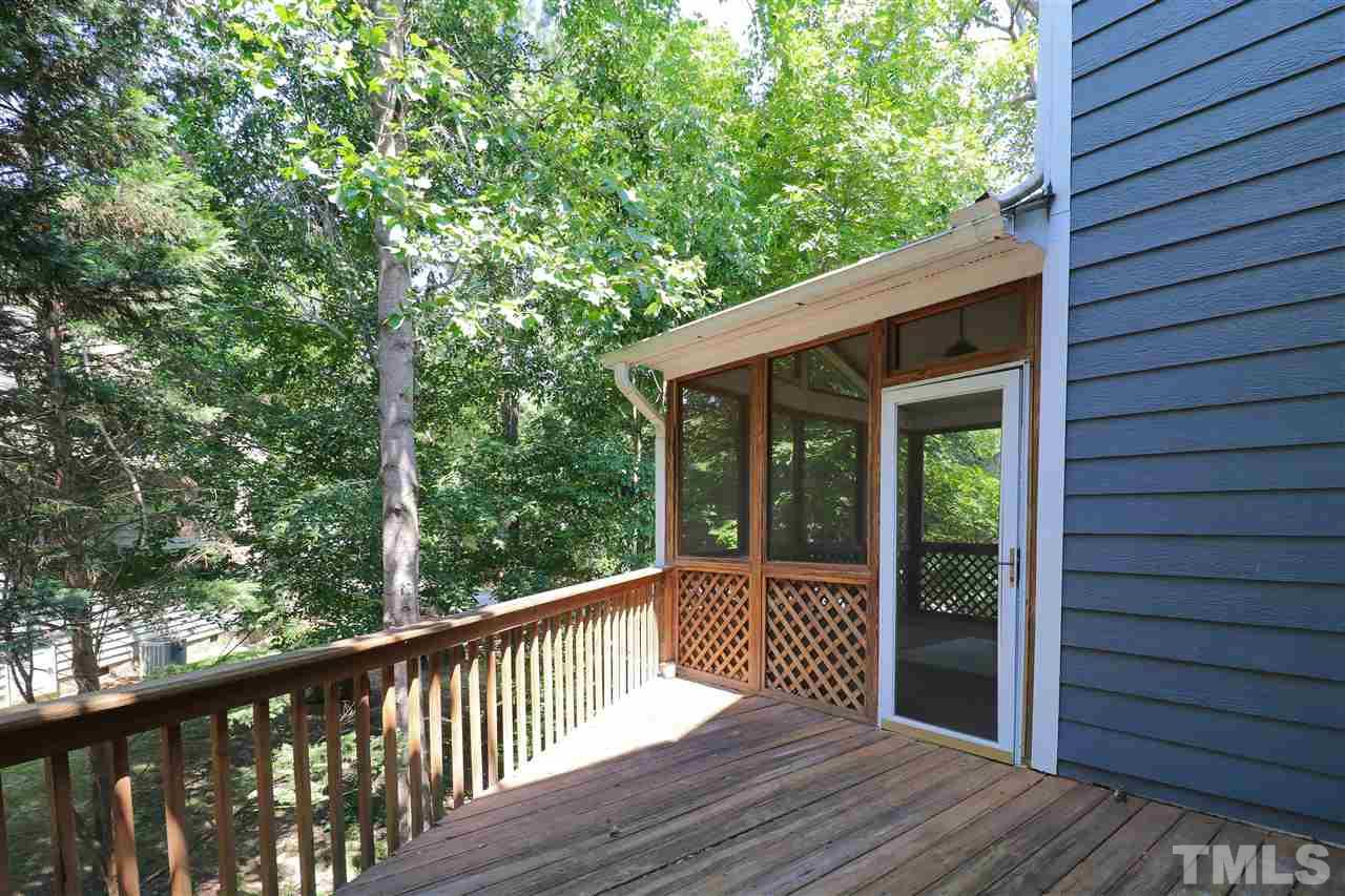 Back Deck, Uncovered