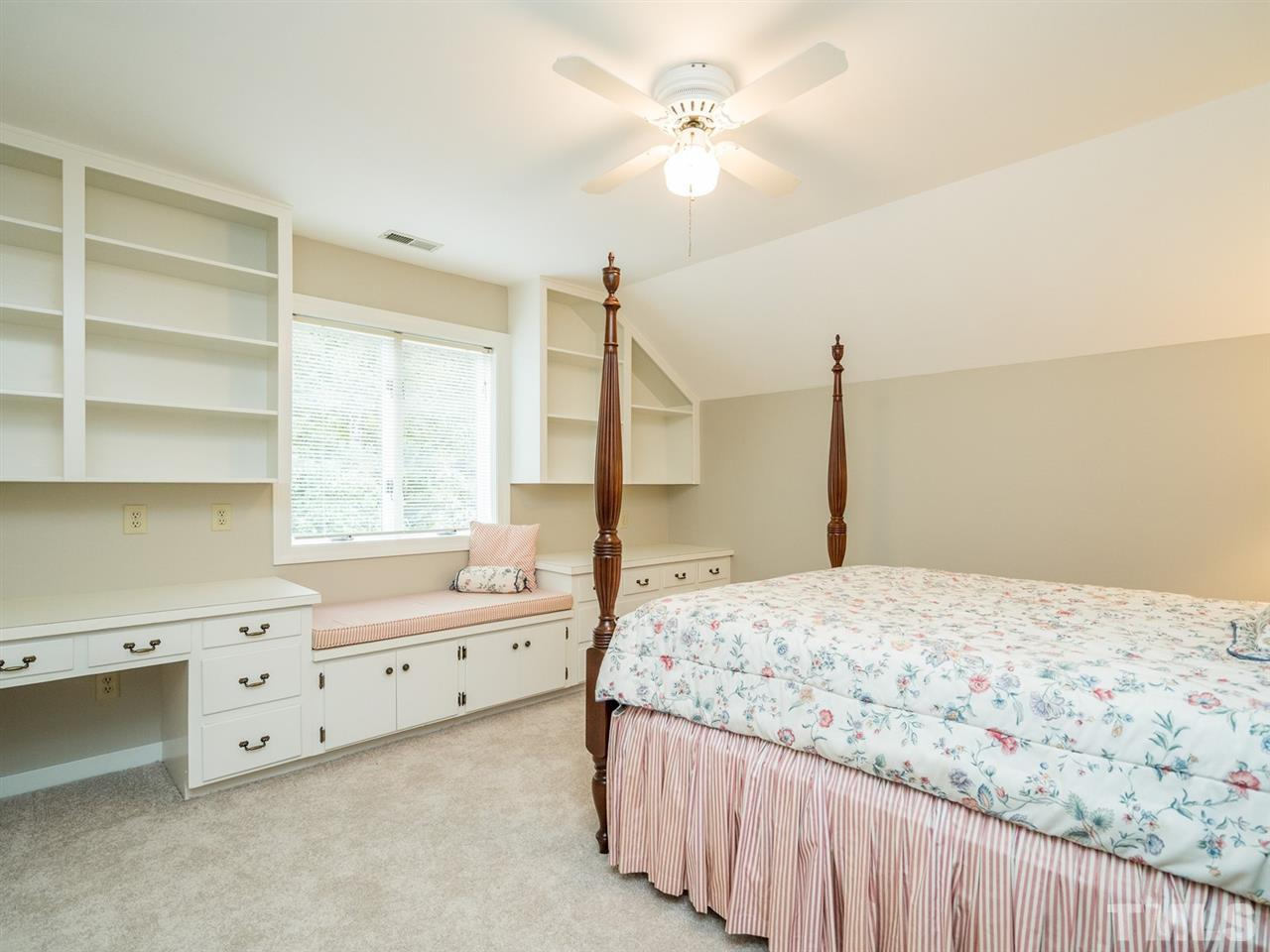 All secondary bedrooms have nicely-sized closets.