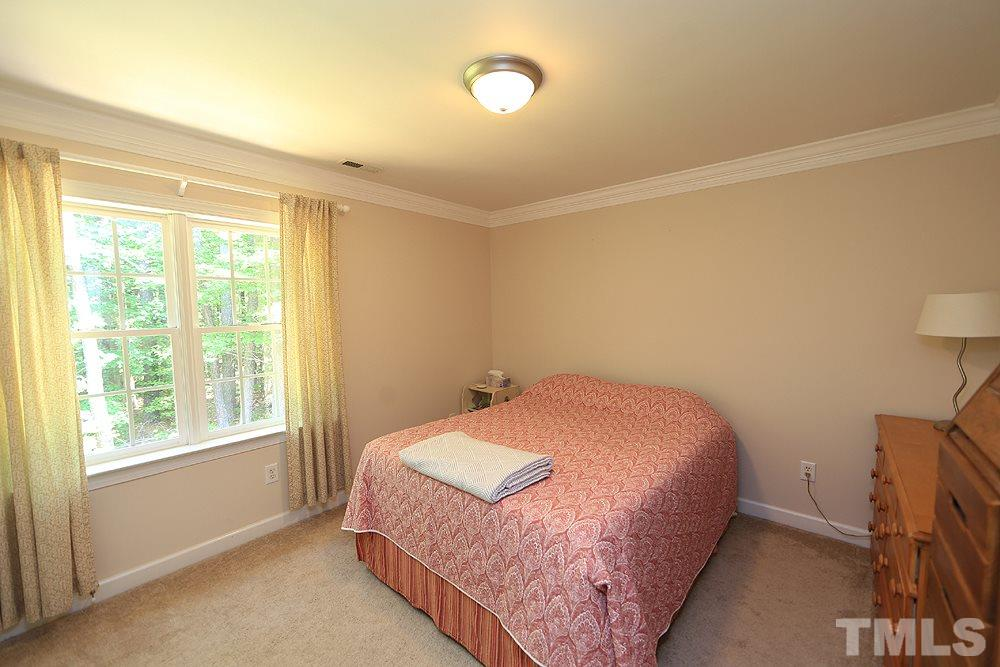 This secondary bedroom can serve as an ideal guest bedroom.