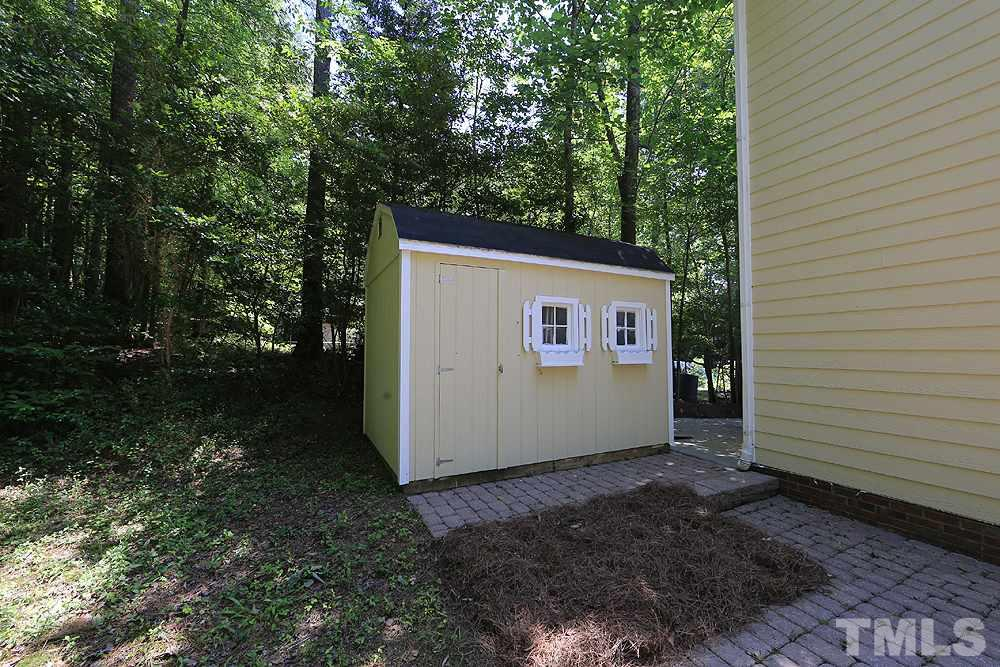 Why clutter up your garage when you have this 12 X 8 storage shed to house all your tools and recreational gear.