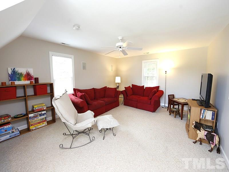 This huge Bonus Room has a WIC so could be 4th bedroom if you choose.
