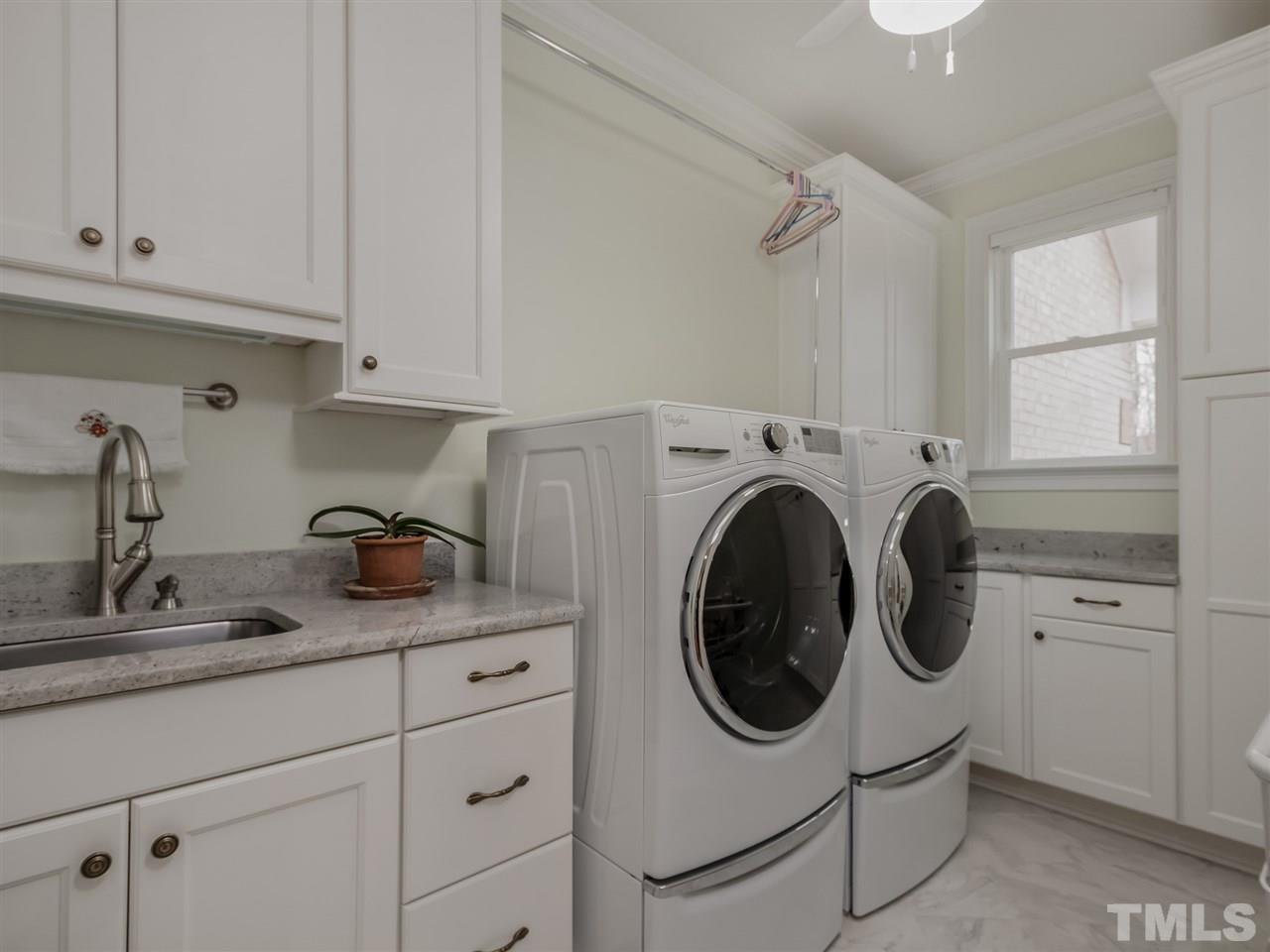 First Floor Laundry Room and Second Floor Laundry Room!