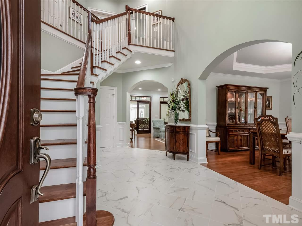 Grand Two-Story Foyer!