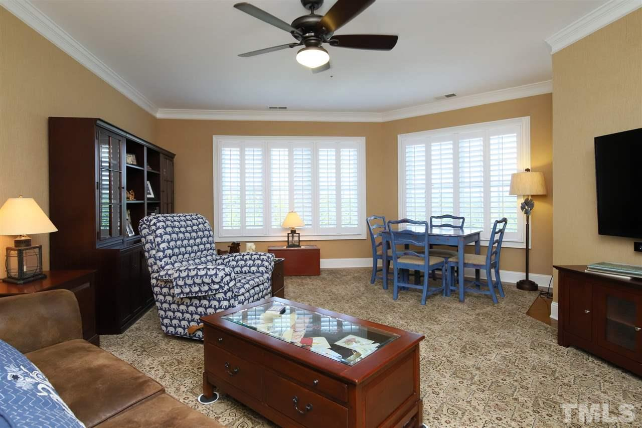 The media room on the second floor could also be a wonderful study, office or family room.