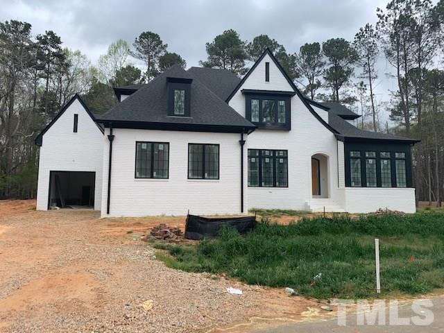 Home is in framed and roofed in as of 10.13.19.  Beautifully wooded yard!