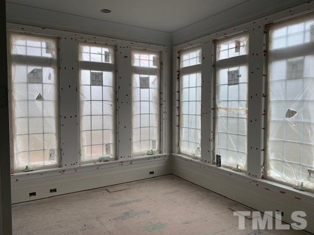 Tons of windows in the study