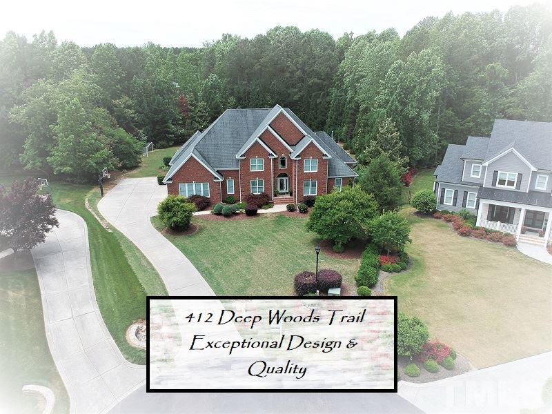 412 Deep Woods Trail, Wake Forest