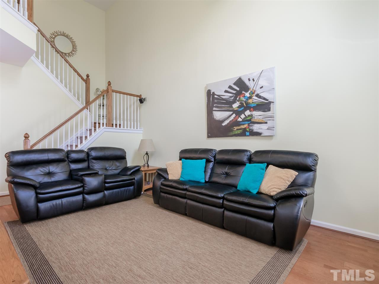 Comfort is key here! Open to the kitchen, this family room is a place to rest your head, watch a good movie, listen to music (surround sound) or converse with the chef!