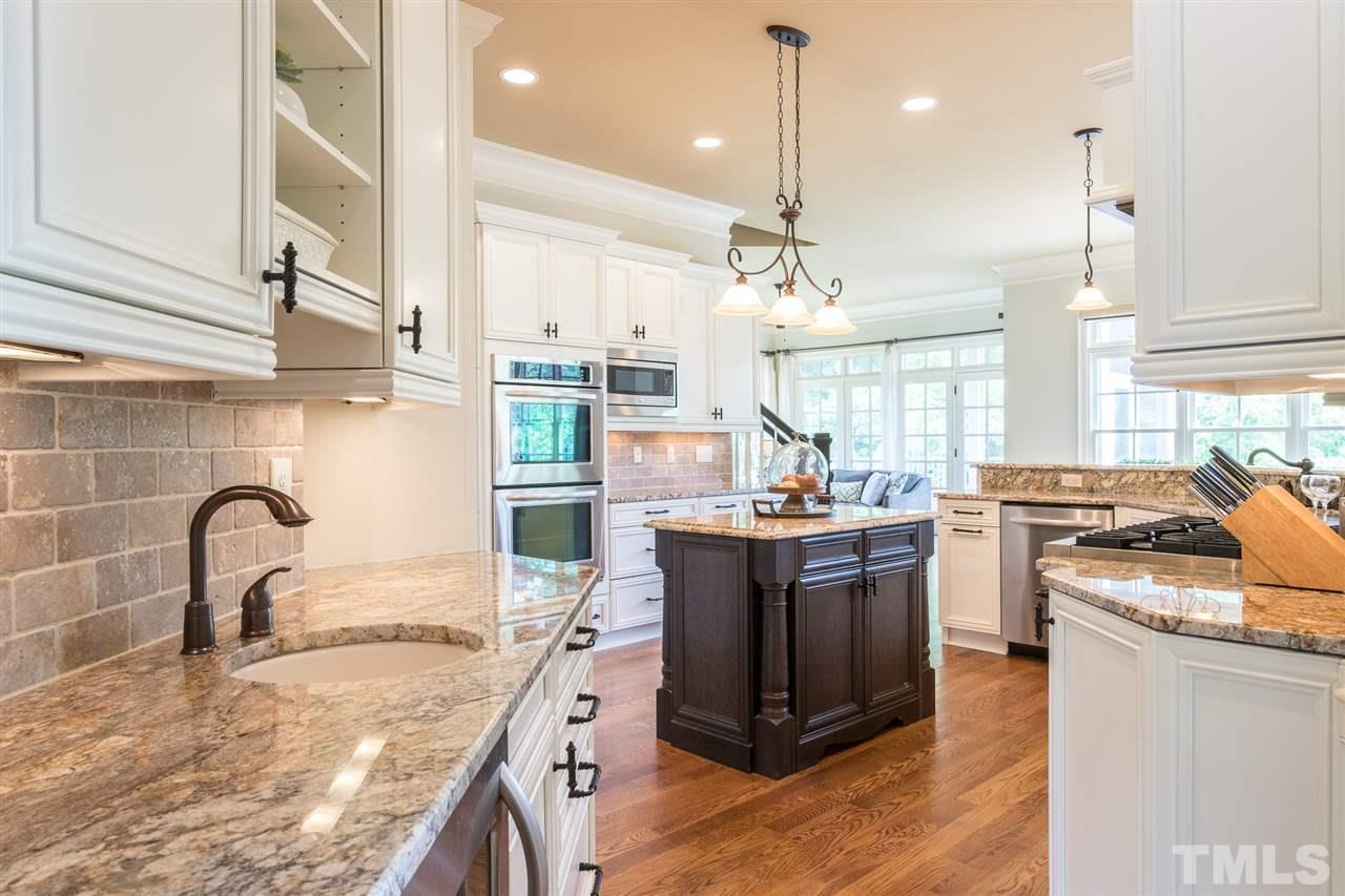 Kitchen offers high-end professional grade appliances.