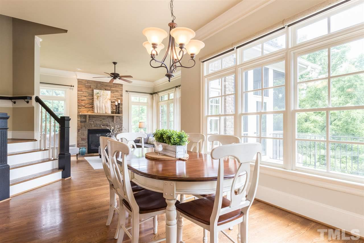 Catwalk and cathedral ceilings give this home an open feeling.