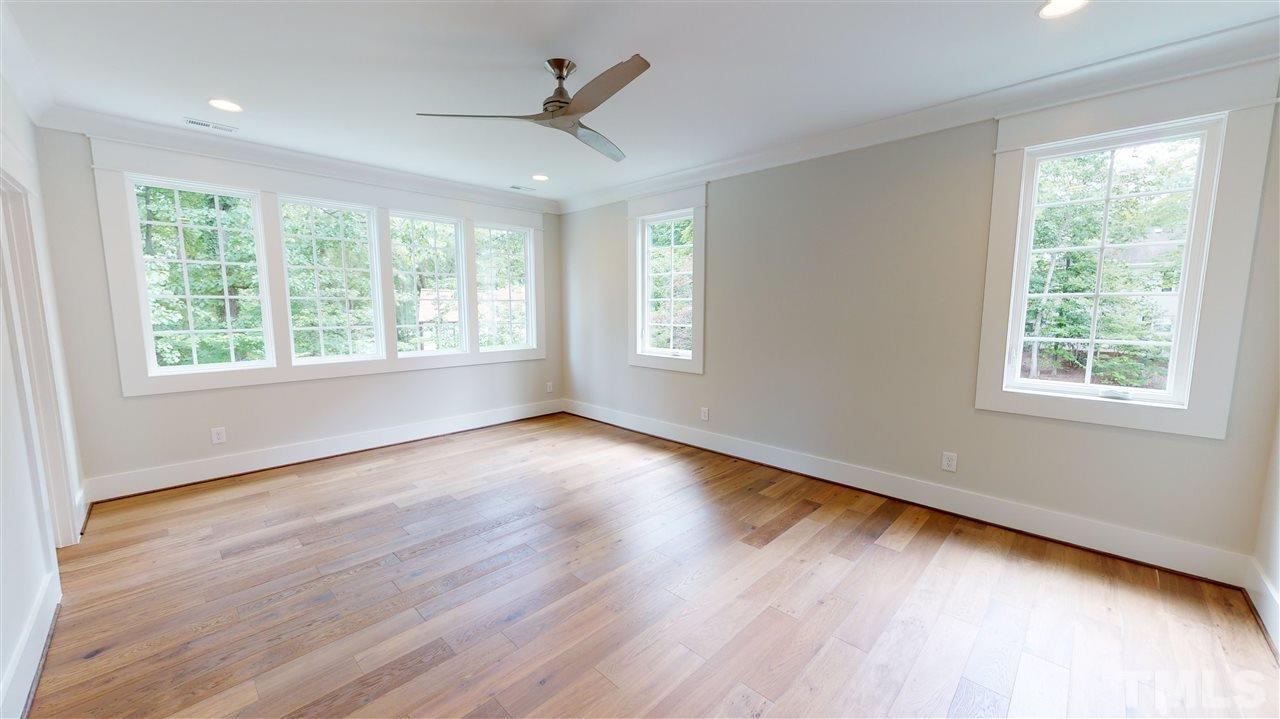 Sample Master Bedroom from a similar home by Exeter Building Co.
