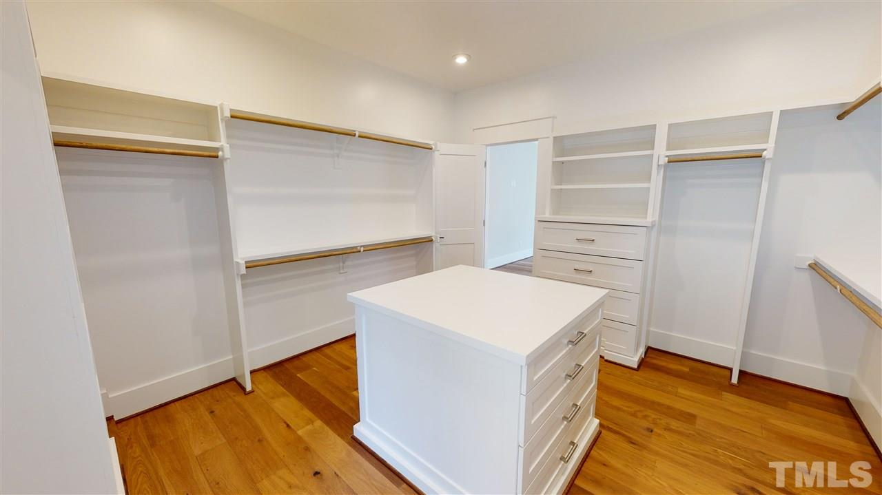 Sample Master Closet from a similar home by Exeter Building Co.
