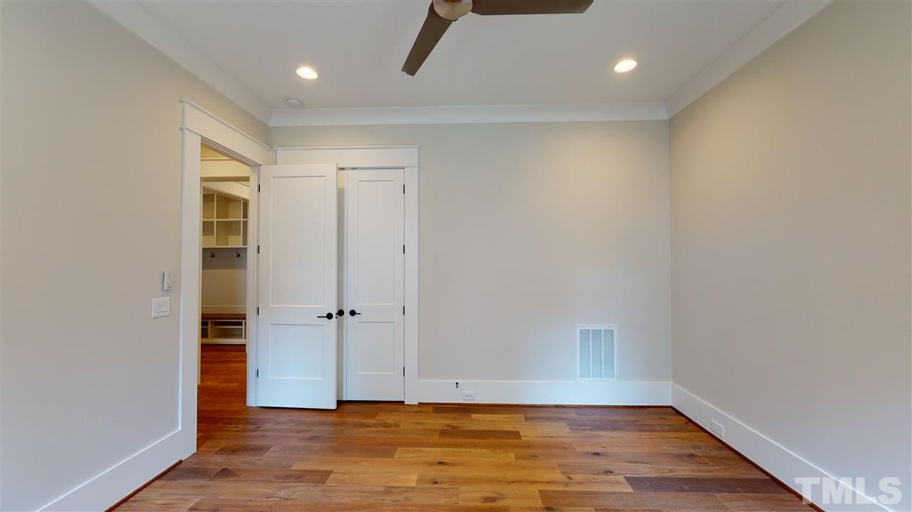 Sample Second Bedroom from a similar home by Exeter Building Co.