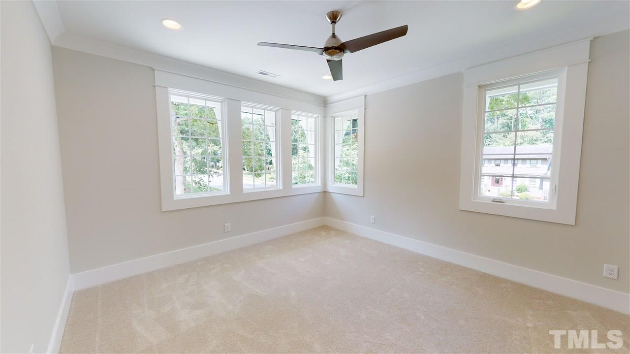 Sample Third Bedroom from a similar home by Exeter Building Co.