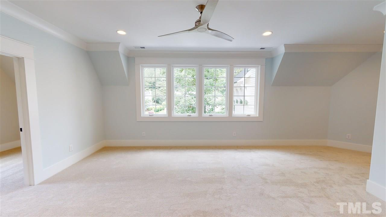 Sample Bonus Room from a similar home by Exeter Building Co.
