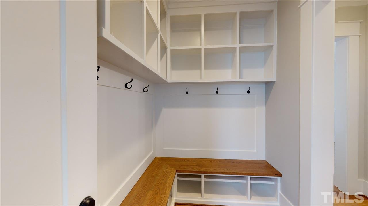 Sample Mud Room from a similar home by Exeter Building Co.