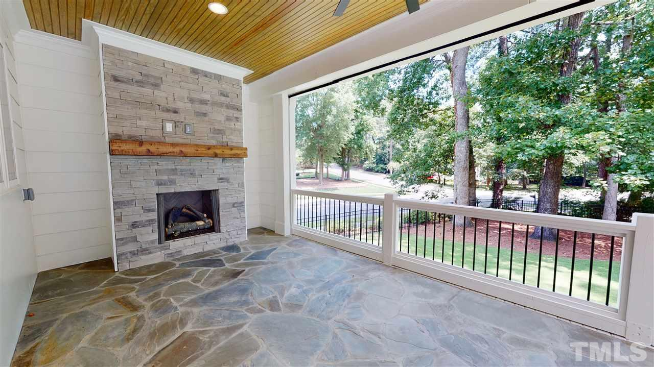 Sample Screened Porch from a similar home by Exeter Building Co.