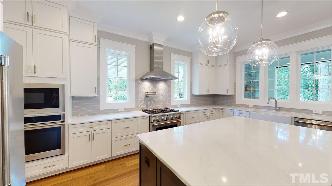 Sample Kitchen from a similar home from Exeter Building Co.