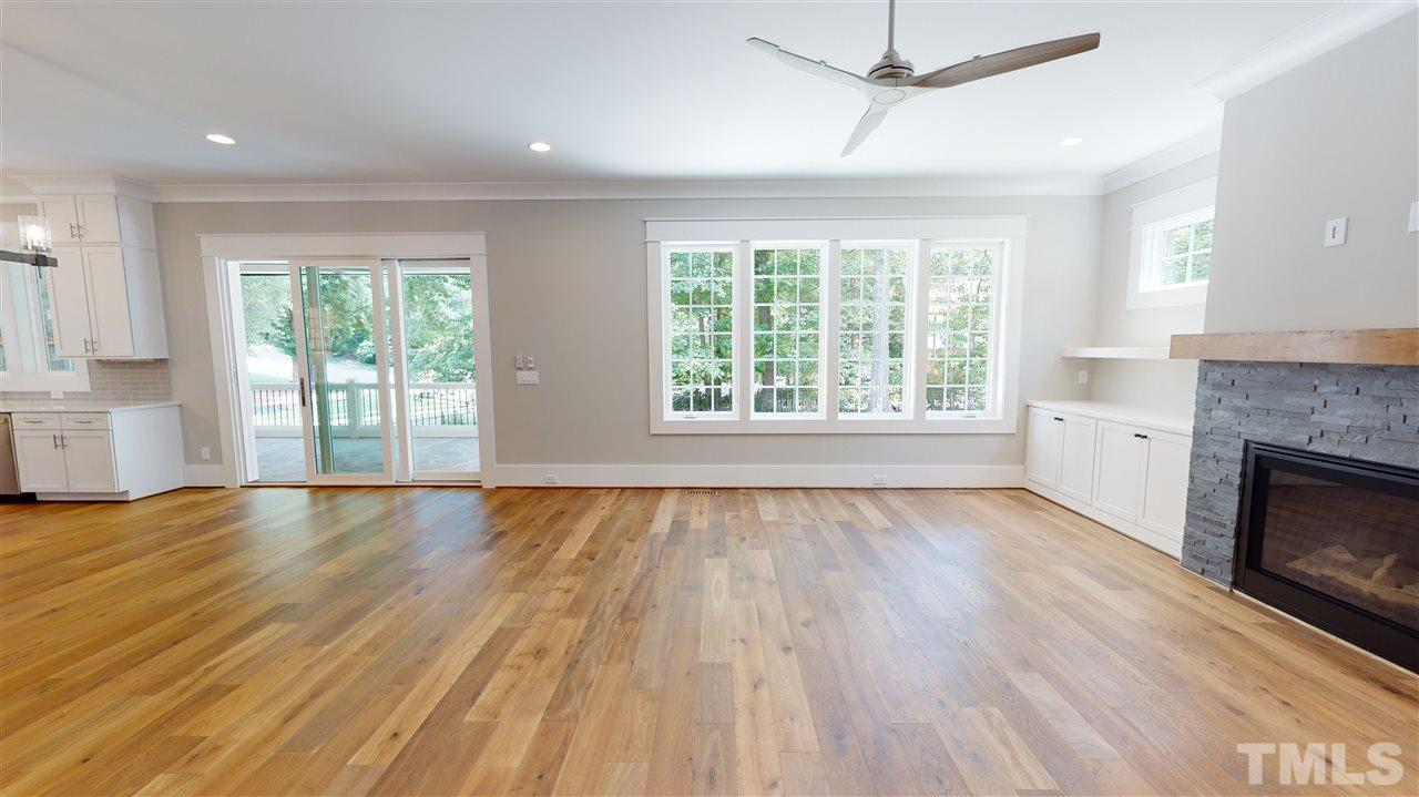 Sample Family Room from a similar home from Exeter Building Co.