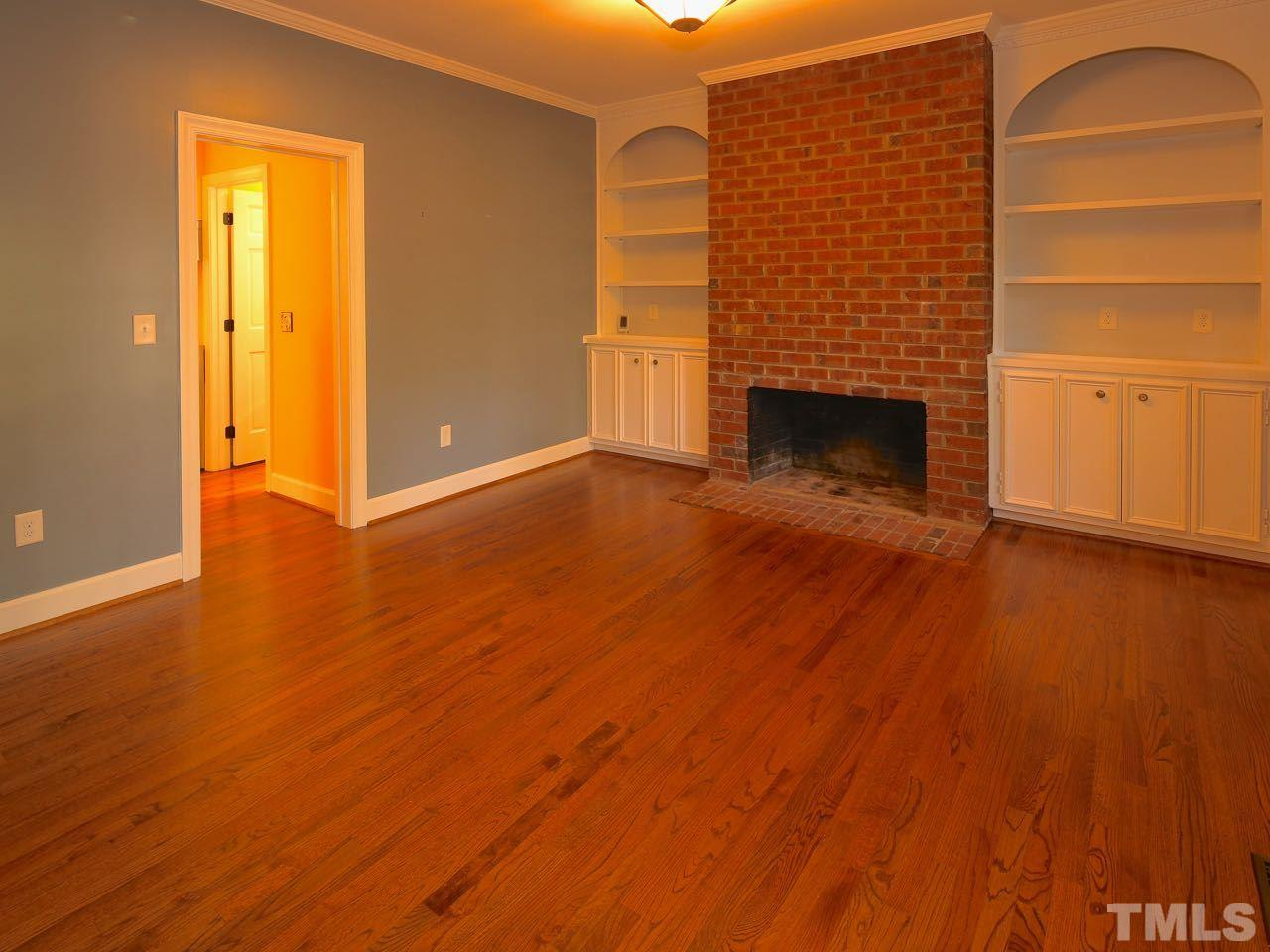 The Living Room is exceptionally large and has a beautiful bay window, which lets in lots of natural light.