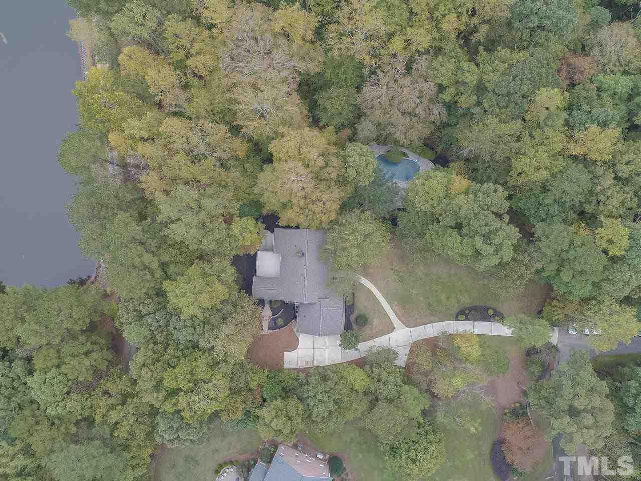This property is 3 acres and has a lake view.