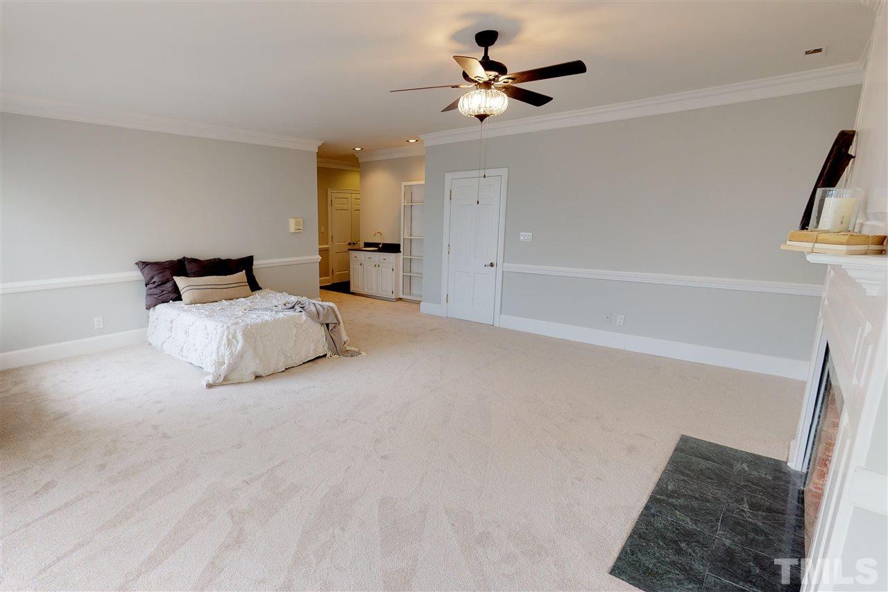 Master Bedroom second floor, overlooking Lake MacGregor
