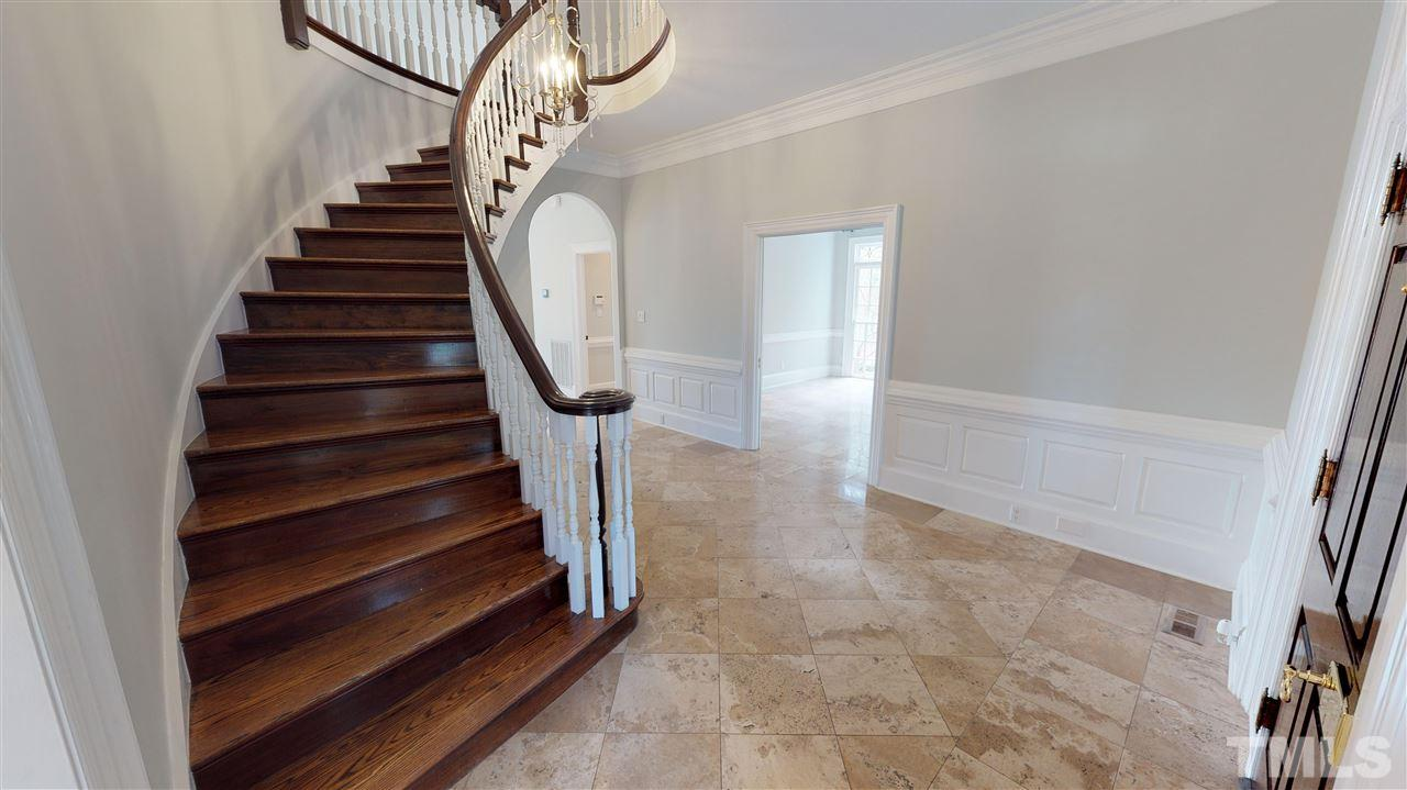 Imagine the possibilities...this expansive foyer is breathtaking