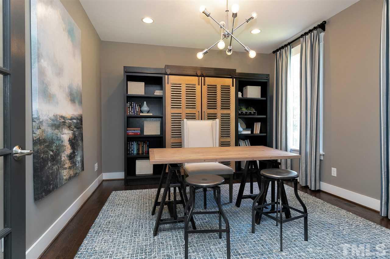 French doors to office, or music room.