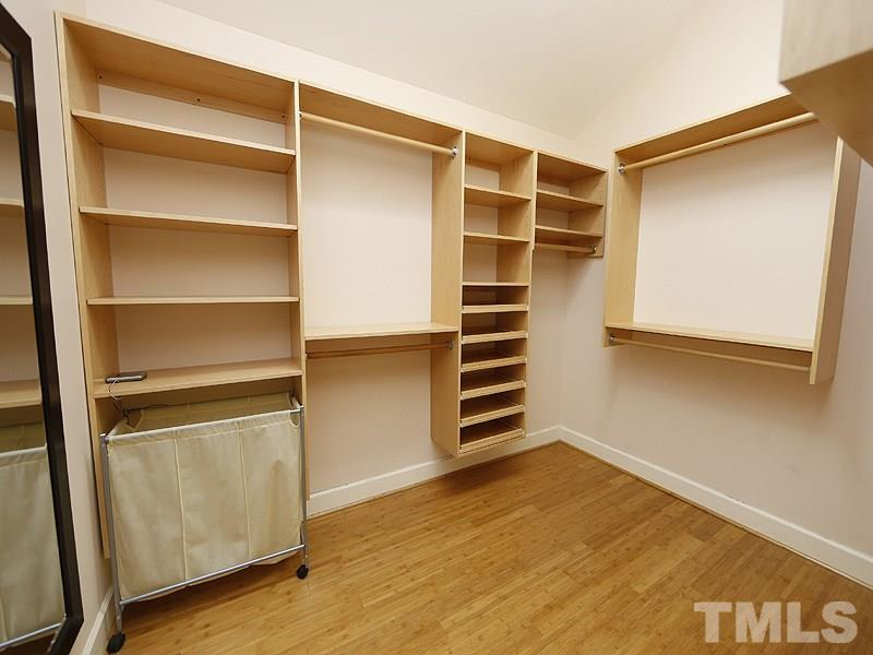 ...with a huge Walk-In-Closet