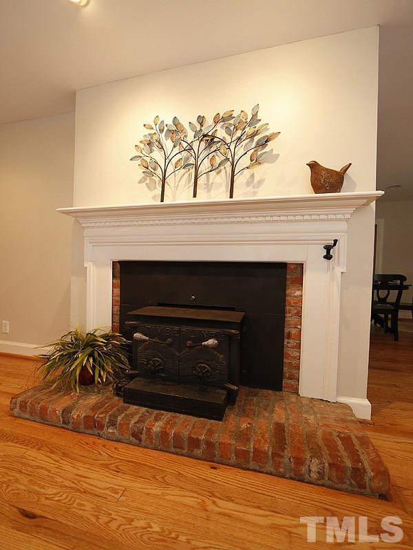 Enjoy cozy evening with the wood burning stove
