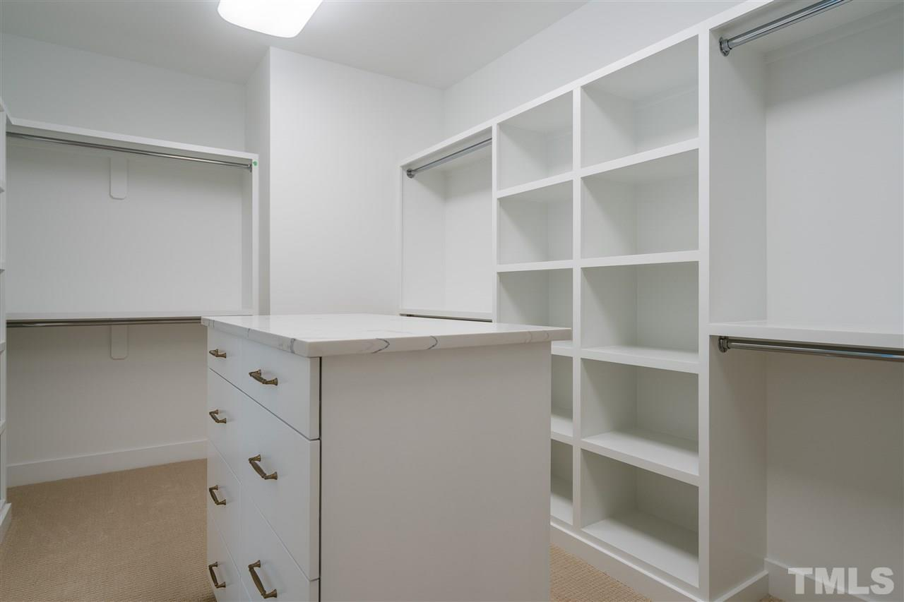 efficiently appointed master closet