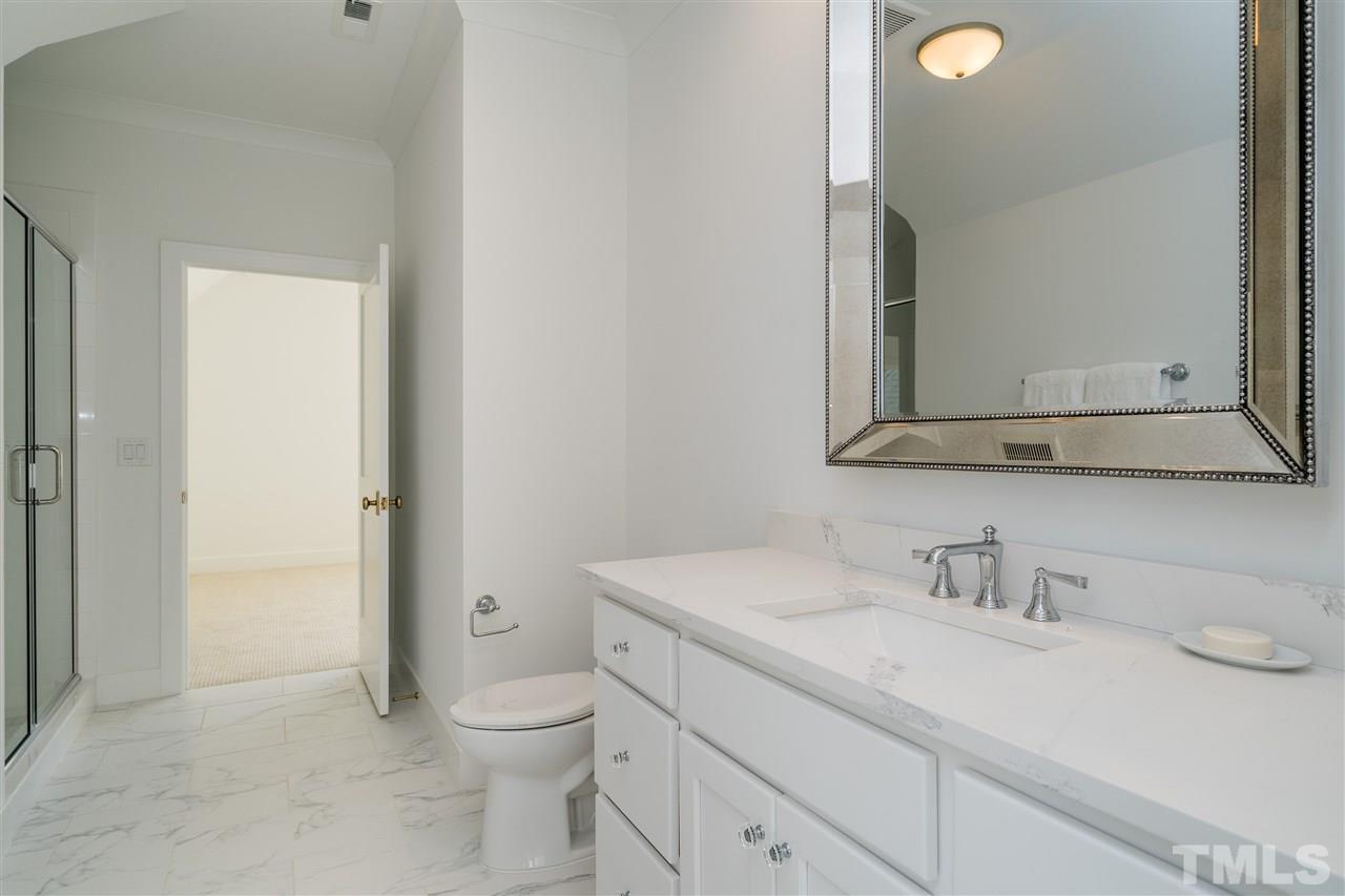 Bath is shared between second bedroom and bonus room