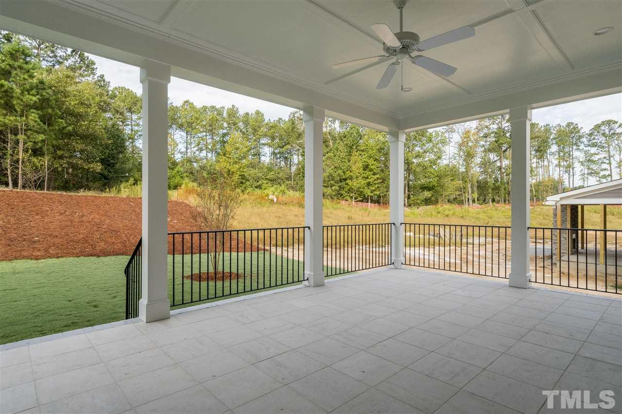 Located off family/breakfast area overlooking private back with American Tobacco Trail buffer