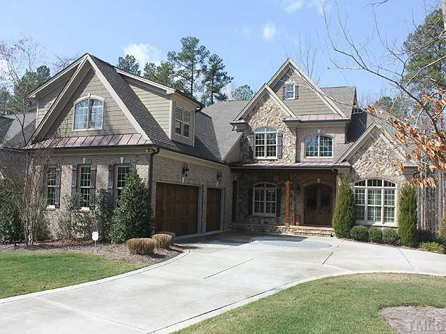 12229 the gates drive raleigh nc fonville morisey real for Beautiful brick and stone homes
