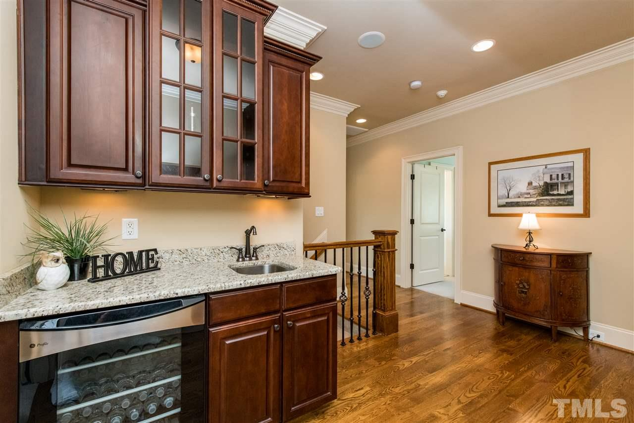 One of Three Entertainer's Bars in the home, Master, Butler's pantry and Third Floor!  Unbelievable upgrades in this Custom home  Entertainer's dream
