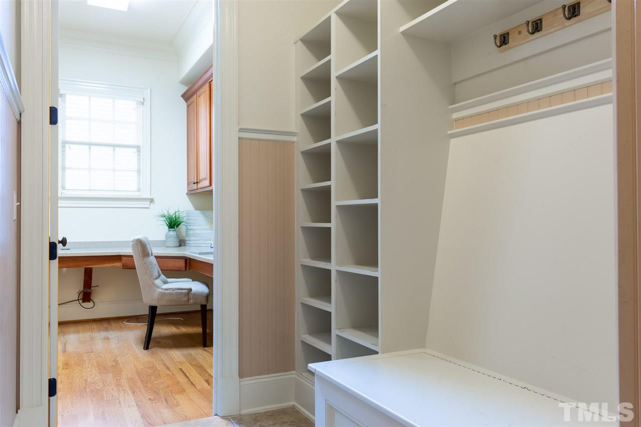 Enter Back Office & Mud Room from side entrance or from off the Kitchen & back staircase.