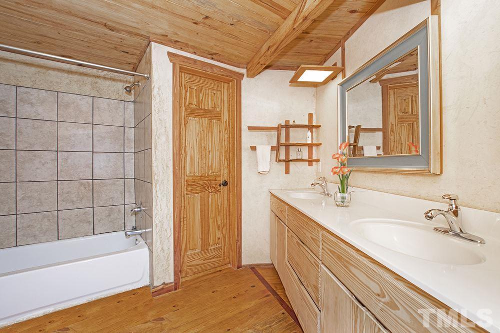 Bathroom of residence
