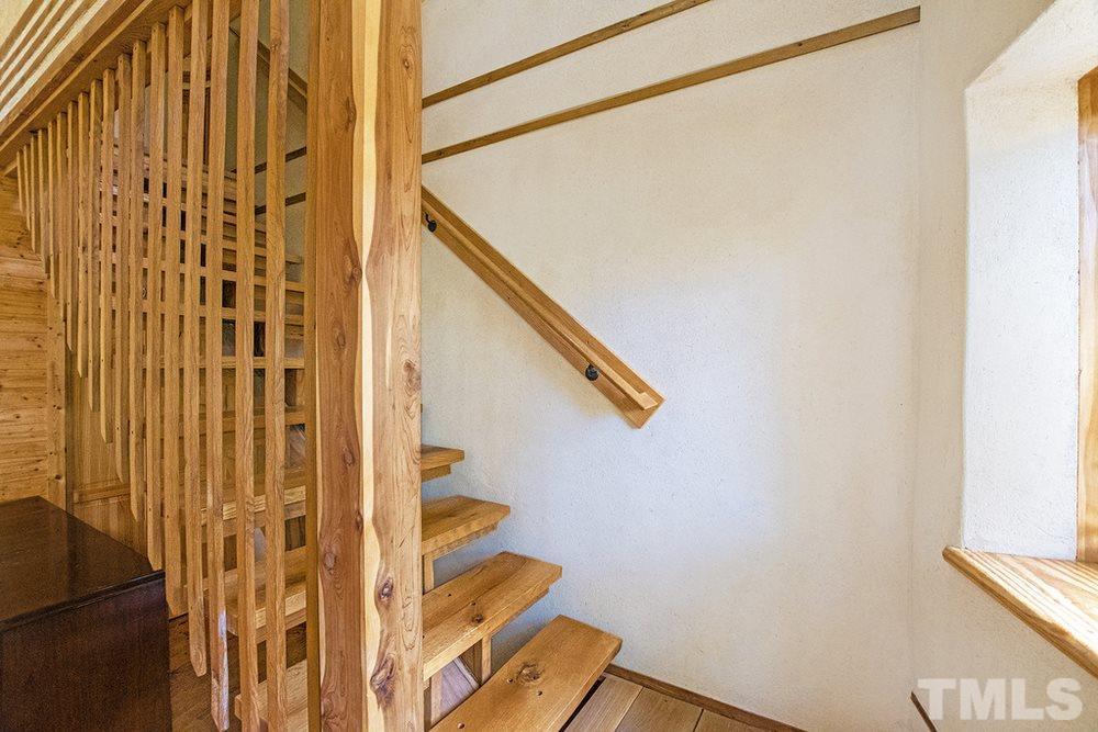 Stairway of residence