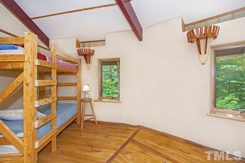 Bedroom of residence