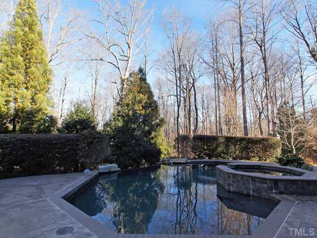 Pool and hot tub are both private and luxurious at the same time!