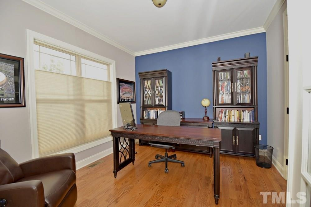 Flex space, is a perfect home office but you can make it a den, formal living, reading room, ...you decide