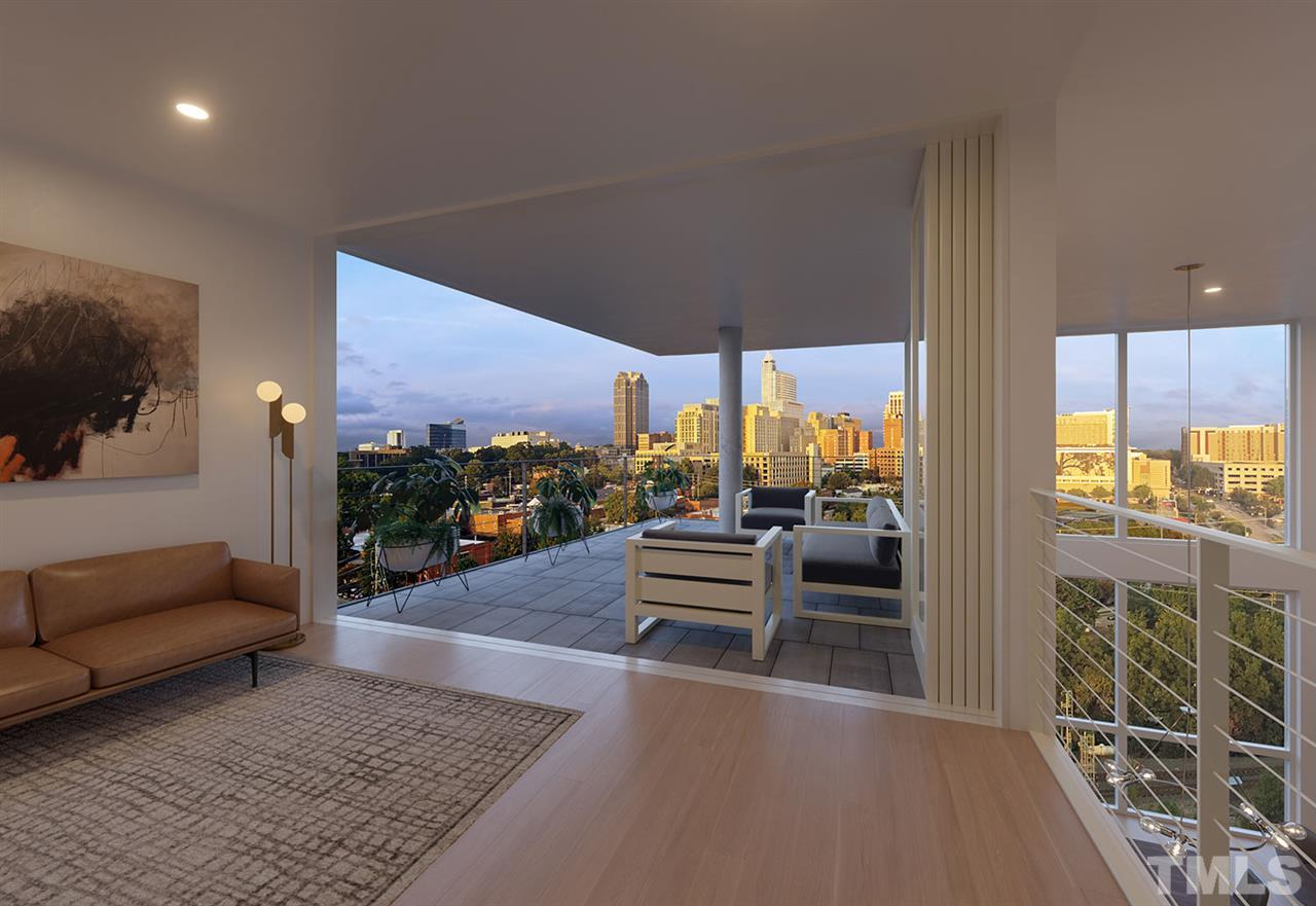 Penthouse Mezzanine View.