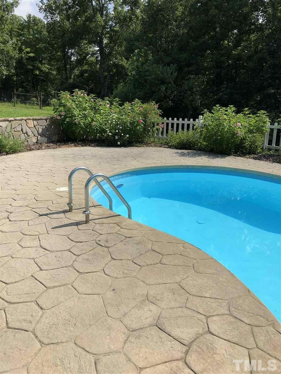 Cool off from the summer heat in your own back yard pool