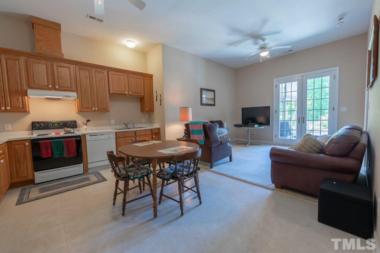 2nd kitchen located in basement.  Refrigerator, washer and dryer remain
