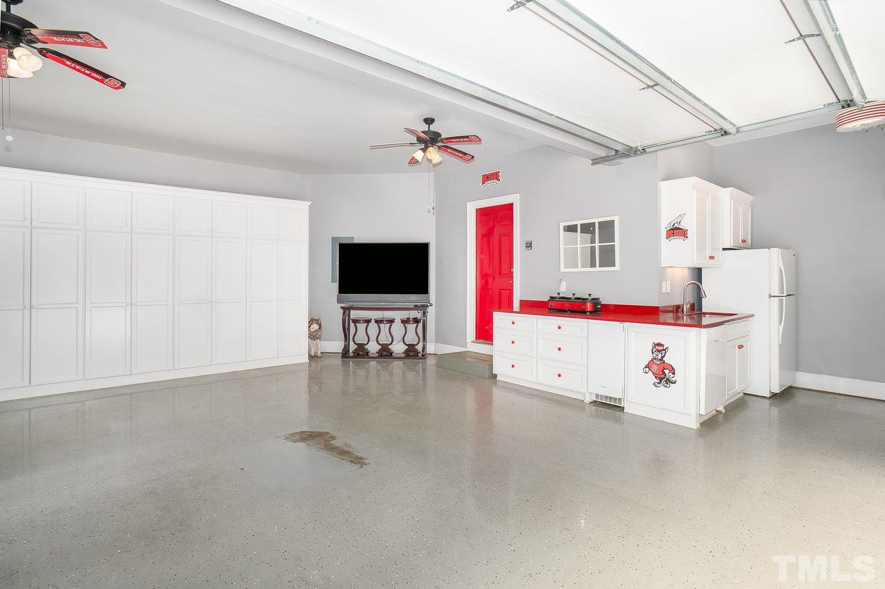 Check out this garage!  Perfect for entertaining year round!