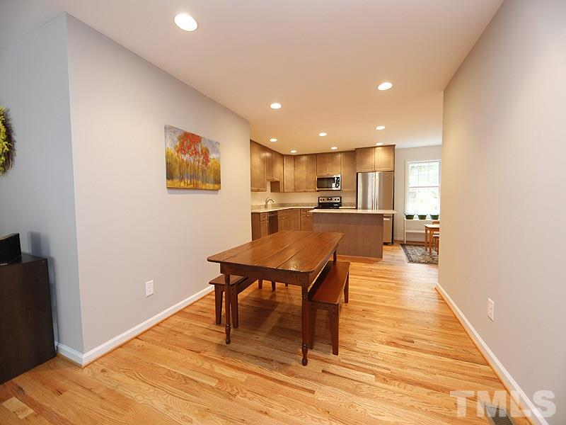 Modern, open space. Smooth ceilings and recessed lighting!