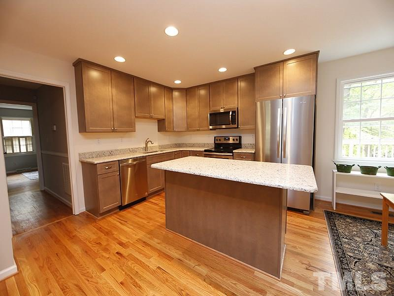 Fully renovated! New cabinets, counters, and appliances.
