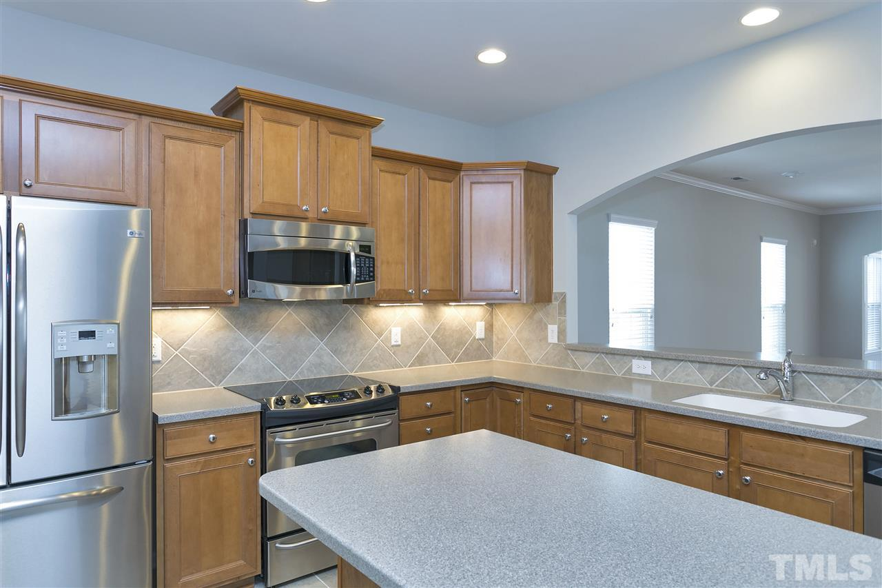 The heart of the home - your spacious kitchen with lots of cabinets and counter space!